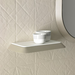 Fluent Wall Shelf | Bath shelving | Inbani