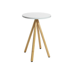 Robinia with tabletop Classic | Mesas altas | nanoo by faserplast