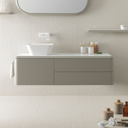 Fluent Colletion - Set 4 | Mobili lavabo | Inbani