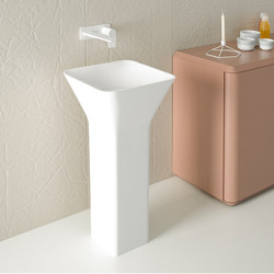 Fluent Freestanding Cristalplant® Washbasin | Wash basins | Inbani