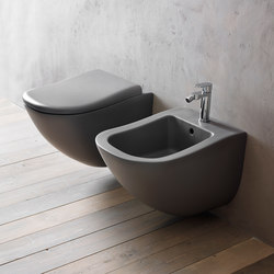 Fluid wall-hung wc | bidet | Toilets | Ceramica Cielo