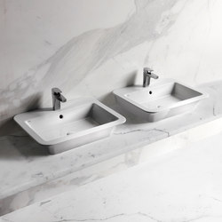 Opera One hole on top washbasin 64 | Wash basins | Ceramica Cielo