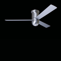 Cirrus hugger brushed aluminum | Ventilatori a soffitto | The Modern Fan