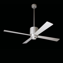 Flute textured nickel | Ventilatori a soffitto | The Modern Fan