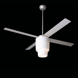 Halo textured nickel/opal | Ceiling fans | The Modern Fan