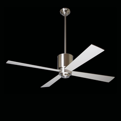 Lapa bright nickel | Ceiling fans | The Modern Fan