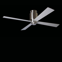 Lapa hugger bright nickel | Ventilatori a soffitto | The Modern Fan