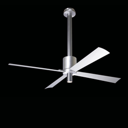 Pensi aluminum/anthracite with light | Ventilatori a soffitto | The Modern Fan