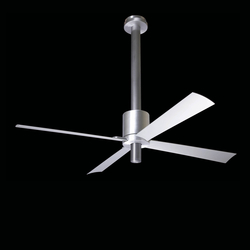 Pensi aluminum/anthracite | Ceiling fans | The Modern Fan
