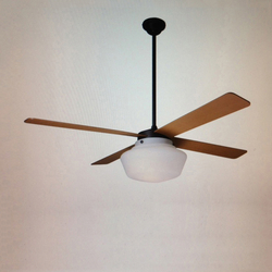 Schoolhouse Rubbed Bronze | Ventilatori a soffitto | The Modern Fan