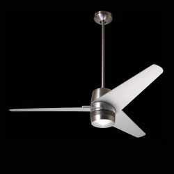 Velo bright nickel | Ceiling fans | The Modern Fan