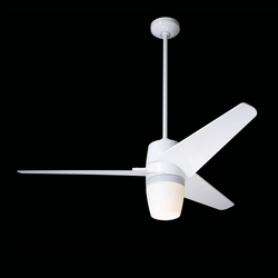 Velo gloss white with 850 light | Deckenventilatoren / Deckenfächer | The Modern Fan