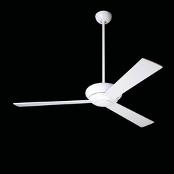 Altus gloss white | Ventilatori a soffitto | The Modern Fan