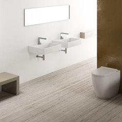 Smile wall hung washbasin 50 | Lavabos | Ceramica Cielo