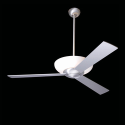 Aurora brushed aluminum | Ventilatori a soffitto | The Modern Fan