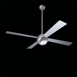 Ball brushed aluminum | Ventilatori a soffitto | The Modern Fan