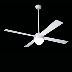 Ball gloss white with 650 light | Ventilatori a soffitto | The Modern Fan