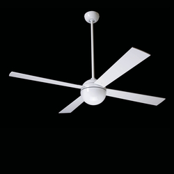 Ball gloss white | Ventilatori a soffitto | The Modern Fan