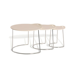 Pompaples 3 nesting tables | Side tables | Atelier Pfister