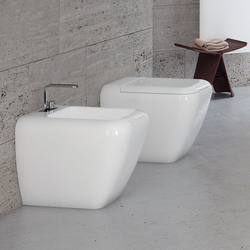Shui back to wall wc | bidet | Toilets | Ceramica Cielo