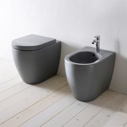 Smile back wall wc 53 | bidet 53 | Toilets | Ceramica Cielo