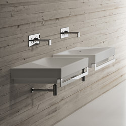 Smile Blink left top washbasin | Wash basins | Ceramica Cielo