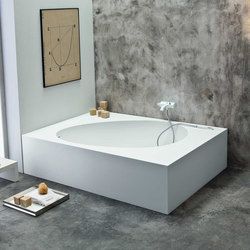 Aki angolo | Bathtubs rectangular | Mastella Design
