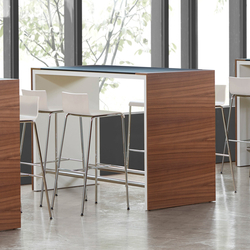 High Work | Standing meeting tables | Müller Manufaktur