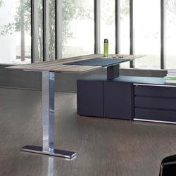 Stand-Sit Workstation | Individual desks | Müller Manufaktur