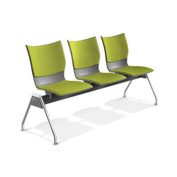 Onyx Beam Seating 2432/99 | Waiting area benches | Casala
