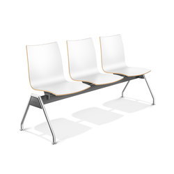 Onyx Beam Seating 2444/99 | Waiting area benches | Casala