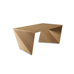 AIR 101 WOOD Oak | Individual desks | bau+art