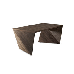 AIR 101 WOOD Walnut | Escritorios individuales | bau+art