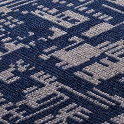 DGTL One dark blue & stone grey | Rugs / Designer rugs | kymo