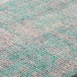 DGTL One pastel green & nature grey | Tappeti / Tappeti d'autore | kymo