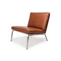 Man Lounge Chair: Vintage Leather Cognac 21000 | Loungesessel | NORR11