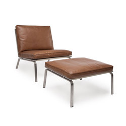 Man lounge chair & ottoman | Sillones lounge | NORR11