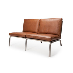 Man Sofa, Two-Seater: Vintage Leather Cognac 21000 | Divani | NORR11