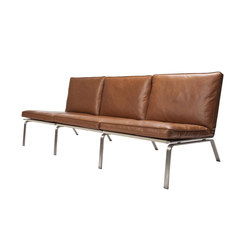 Man Sofa, Three-Seater: Vintage Leather Cognac 21000 | Divani lounge | NORR11