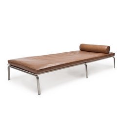 Man Daybed: Vintage Leather Cognac 21000 | Lettini / Lounger | NORR11