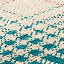 Glen hi land ivory, turquoise & red dawn | Rugs / Designer rugs | kymo