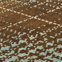 Glen lo land brown, pastel green & ivory | Tapis / Tapis design | kymo