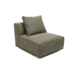 Madonna Sofa, Center: Canvas Washed Green 156 | Sièges modulables | NORR11