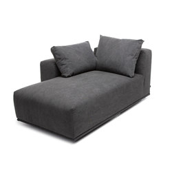 Madonna sofa chaise longue left | Modular seating elements | NORR11
