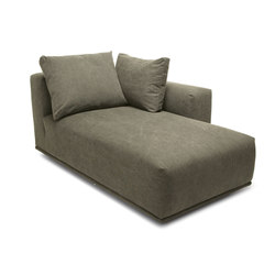 Madonna sofa chaise longue right | Elementi di sedute componibili | NORR11