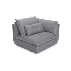 Macchiato Sofa, Corner: Kiss Stone 181 | Modular seating elements | NORR11