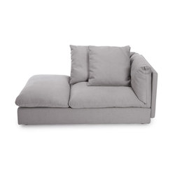 Macchiato sofa chaise longue left | Modular seating elements | NORR11