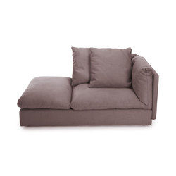 Macchiato Sofa Chaiselongue links | Modulare Sitzelemente | NORR11