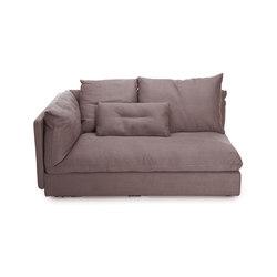 Macchiato sofa right arm | Modular seating elements | NORR11