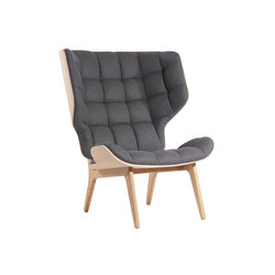 Mammoth Chair, Natural / Wool: Coal Grey 067 | Lounge chairs | NORR11